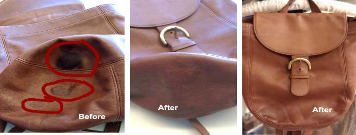Dye Leather Bag| Restore Color on Leather Bag| Bag Color Refinish