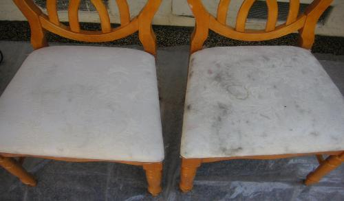 Fabric Chairs Cleaning Before After
