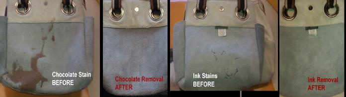 suede bag cleaning chocolate stains ink stains remove
