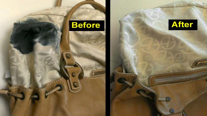 How To Remove Ink From Leather >> Handbag Cleaner Clean Purses Ink Remove On Leather