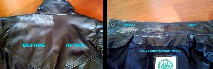 leather jacket dying recolor