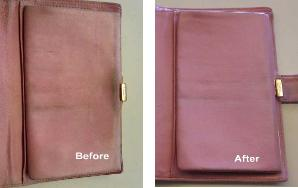 clean and restore purse