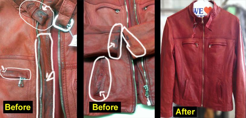 How to wash leather jackets