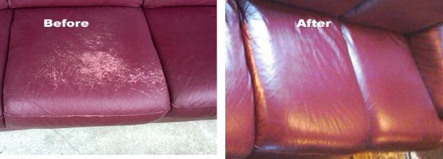 repair dog cat scratch on leather sofa - Leather Sofa Repair