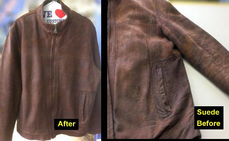 Pro Leather Jackets Cleaner Clean Suede Dye Repair Jacket